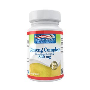 Ginseng Complete 820mg 60 Softgels