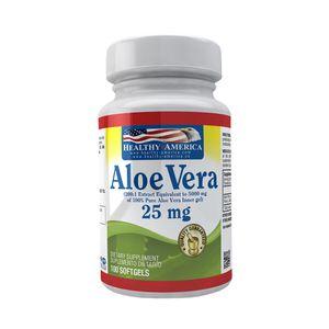 Aloe Vera 25mg 100 Softgels