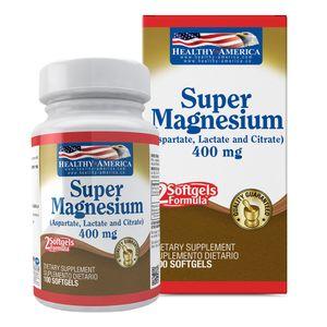 Super Magnesium 400mg 100 Softgels