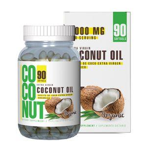 Aceite de Coco 3000mg 90 Softgels