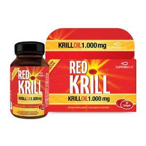 Red Krill 1000mg 30 Softgels